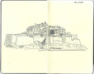 Calvi - Citadel by Thorleifr