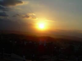 puesta del sol by ElMenor2393