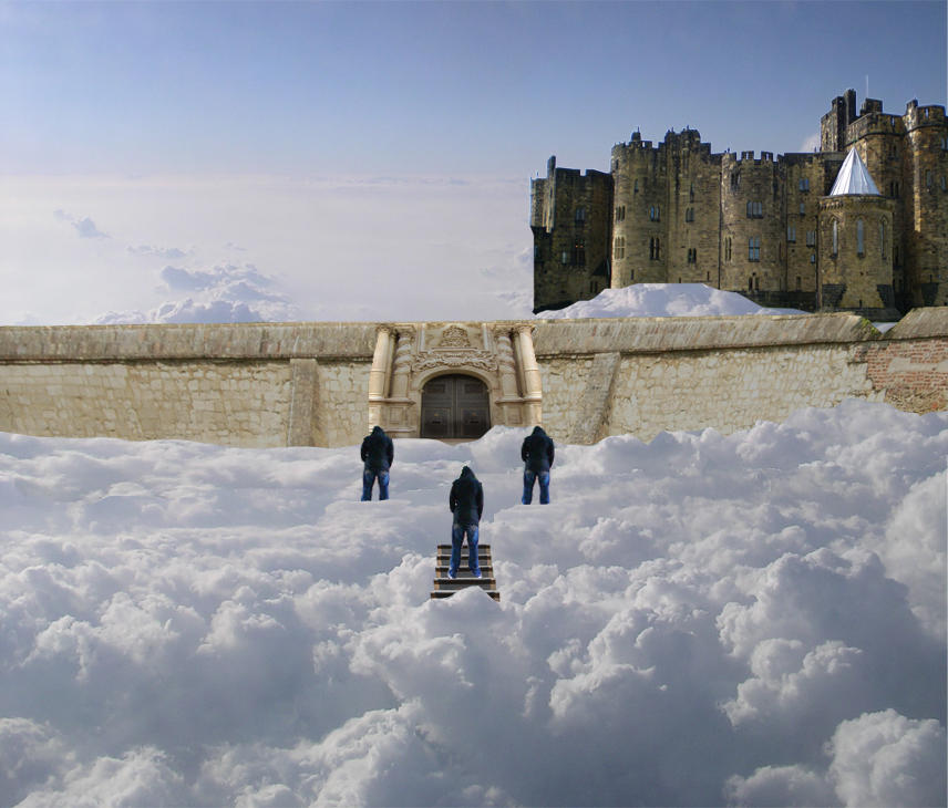 Castle in the Clouds by ElMenor2393