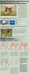 Artwork Tutorial - Horse by SarahScala