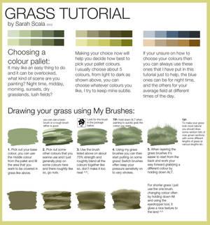 Grass Tutorial by SarahScala