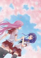 Fate/Stay Night - Sakura and Rider by Sedeto