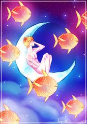 Moonfish by MisterBearyBear