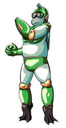 Bubble Man by Inkmonkey-Woodis