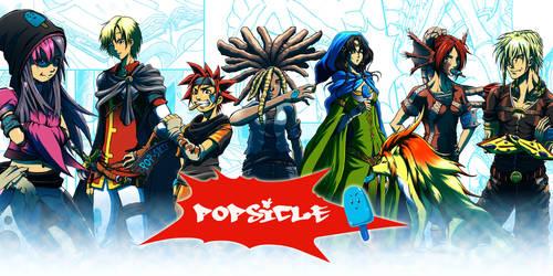 Banderole POPSICLE by Manga-exile