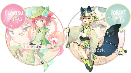 [CLOSED] Auction Adopts: CS Collab w/ Kuriesu by ToasterKiwi