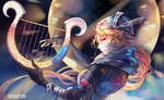 COMMISSION: Hyrule Warrior Sheik by ToasterKiwi