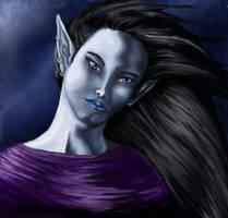 Moon Elf by Mistresselysia