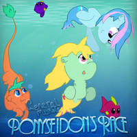 Ponyseidon's Race -Collab- by Poowis