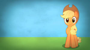 Fairly simple pony wallpapers - Applejack by Poowis