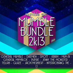 Mumble Bundle 2k13 cover art by Poowis