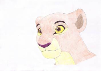 Kiara's face by Oliverw-b