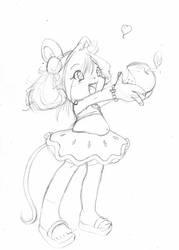 Apple pie :sketch: by ZamieCat