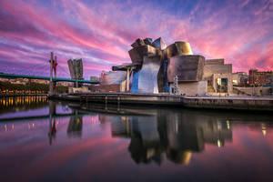 Guggenheim Museum - Bilbao by CanvasOfLight
