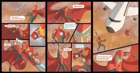 Ironman Vs Magneto by COLOR-REAPER
