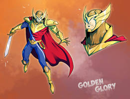 Golden Glory by COLOR-REAPER