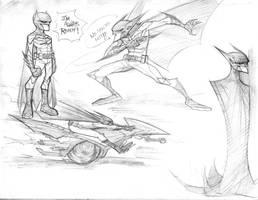 Batman Doodles 1  by COLOR-REAPER