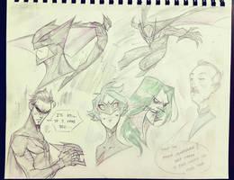 Batman Series Redesign by COLOR-REAPER