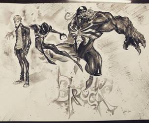 VENOM - Eddie Brock by COLOR-REAPER