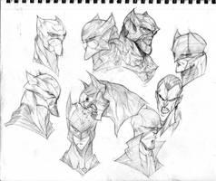 Batmen by COLOR-REAPER