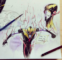 Reverse Flash by COLOR-REAPER