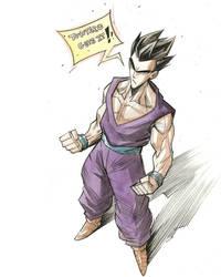 Gohan (DBS Manga) by COLOR-REAPER