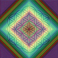 Flower of Life 4 by thealchemistchamber