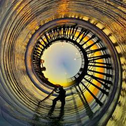 Surfing the Spiral by thealchemistchamber