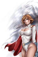 Powergirl by OnishinX