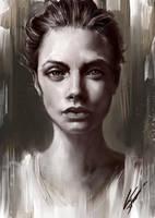 Portrait study 2 by OnishinX