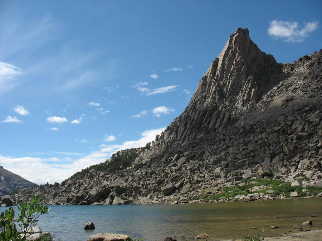 A Mountain Peak by deadeye-stock