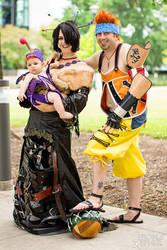 Family Portrait | Lulu | Final Fantasy X by Tarapotamus