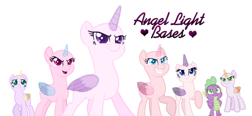 MLP FiM base | Let's do this Girls| by AngelLight-Bases