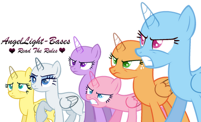 MLP FiM base | Who eat the last cookie | by AngelLight-Bases