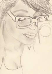 sketch of iBarbieDoll by earuiz1