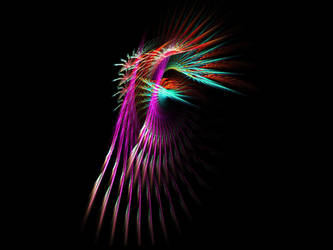 Feather spikey thingy by JacquelineD