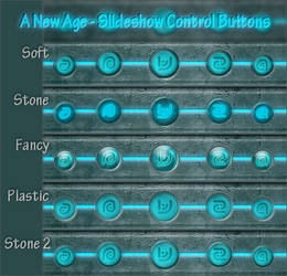 A Future Age - Slideshow Control Buttons by Indigo-Glow