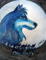 Eternal Blue-Wolf art-trade by Wol4ica