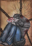 Tired... of chains by Wol4ica