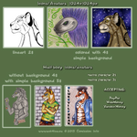 Comission-icons by Wol4ica