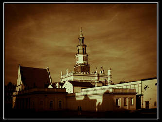 Poznan Old Market Square by ink-gp