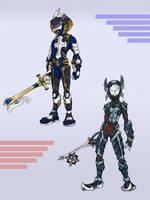 Keyblade Armor Series 3 by KajiMateria