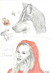 Little Red Riding Hood by jbdevart