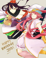 Happy Birthday Joo!!! by redricewine