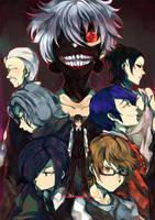 Tokyo Ghoul by redricewine