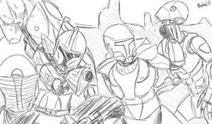 ARC and Commando by MechaG11