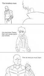 INJRWBY Elseworlds Oscar vs Thanos by MechaG11