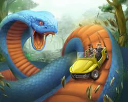 Carolina Cobra by mattandrews