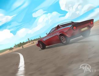 Favorite Cars: Lancia Stratos by mattandrews