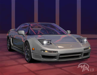 Favorite Cars: Acura NSX by mattandrews